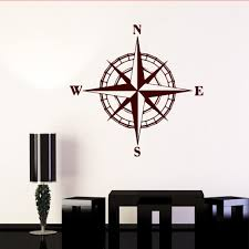 Nautical Rose Compass Waterproof Vinyl Boat Car Van Wall Sticker Decal Small Archives Statelegals Staradvertiser Com