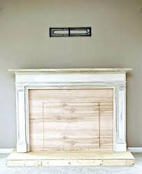 diy faux fireplace ideas winditie info