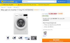 Máy giặt LG FC1475N5W2 - Cập nhập giá bán máy giặt LG lồng ngang ...