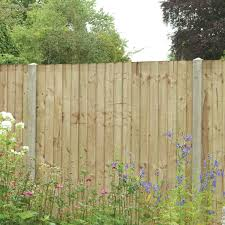 Heavy Duty Wood Featheredge Fence Panel W 1 83 M H 1 5m Pack Of 4 Feather Edge Fence Panels Fence Panels Fence