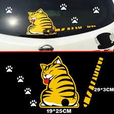 Car Rear Windshield Wiper Decal Sticker Funny Cat Paw Tail Wagging Wiper Decor Ebay