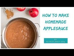 homemade applesauce recipe for canning