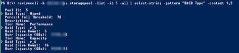 emc vnx 2 accurately show storage