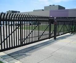 Impasse Heavy Duty Steel Fencefrom Walpole Outdoors Steel Fence Steel Fence Posts Walpole Outdoors