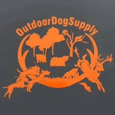 Outdoor Dog Supply Vinyl Truck Sticker
