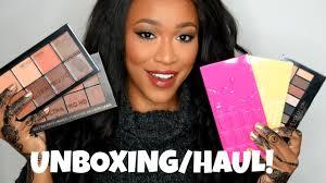 makeup revolution unboxing haul 2016