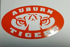 Auburn Tigers College Decal Window Vinyl Decal Yeti Cup Sticker 4 00 Picclick