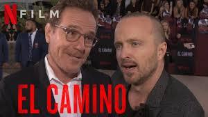 EL CAMINO Interview mit Aaron Paul & Bryan Cranston   Jesse ...