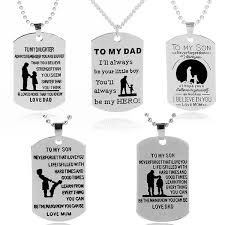 dog tag father daughter mother son