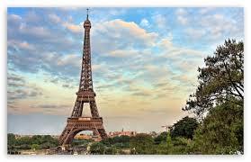eiffel tower paris france ultra hd