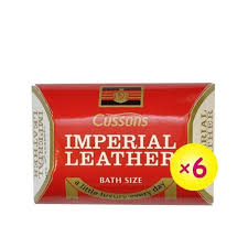 cussons imperial leather bar soap x 6