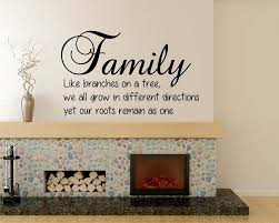 Family Quotes Wall Decal Family Lettering Vinyl Art Stickers