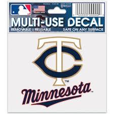 Official Minnesota Twins Car Decals Twins Auto Truck Emblems Mlbshop Com