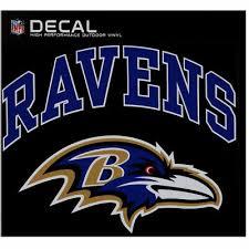 Baltimore Ravens Cornhole Decal Vinyl Nfl Football Car Wall Set Of 2 Gl03