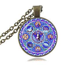 whole cancer zodiac necklace