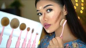 oval makeup brushes review how to use