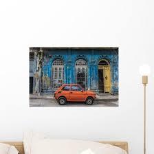 Vintage Car Havana Cuba Wall Decal Wallmonkeys Com