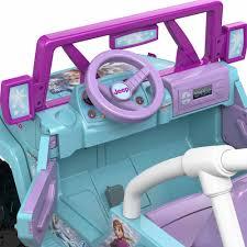 disney frozen jeep wrangler 12 v ride
