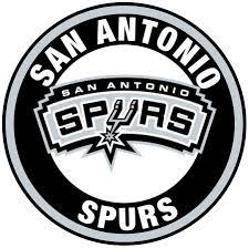 San Antonio Spurs Circle Logo Vinyl Decal Sticker 5 Sizes Sportz For Less