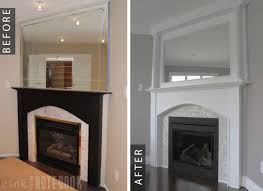 pt 3 fireplace makeover before after