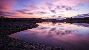 landscape nature reflection stones