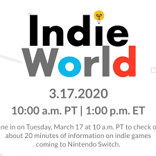 Nintendo Direct Indie World Showcase ...