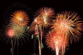 bonfire night and firework displays