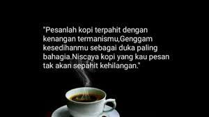 √ kumpulan kata kata tentang kopi ini bisa menginspirasi