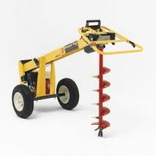 Toronto Gas Powered Augers Rental Post Diggers For Rent