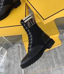rockoko boot black calf leather