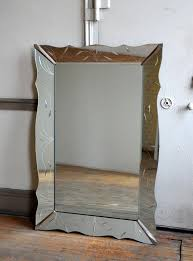 vintage art deco wall mirror 40 x 60