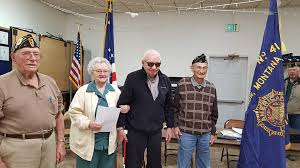 Gordon Olsen, Adeline Mitchell (70 Years... - American Legion Auxiliary  Unit 41 Glasgow | Facebook