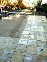 concrete patio slabs home depot