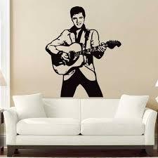 Elvis Presley Rock And Roll Vinyl Wall Art Decal