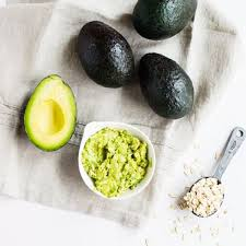 swap out your y hair mask for avocado