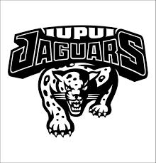 Iupui Jaguars 2 Decal North 49 Decals