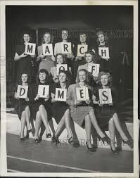 Maxine Kennedy Joan Higgins Mary Geraghty and Val Giatas 1947 Vintage Press  Photo Print | Historic Images