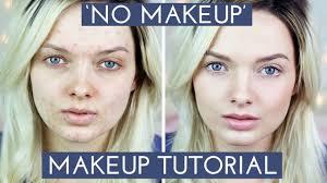 acne coverage no makeup makeup