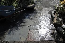 slate and other stone walkway ideas
