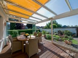 glass rooms glass roof terrace cover