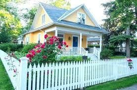Picket Fence Ideas Pinterest Google Search Backyard Fences Front Yard Landscaping Design Farmhouse Landscaping