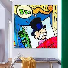 Pop Art Painting Canvas Painting Children Cartoon Modern Design Custom Oil Painting Frameless For Kids Room Buy Cartoon Oil Painting Pop Art Painting Children Cartoon Painting For Wall Decoration Product On Alibaba Com