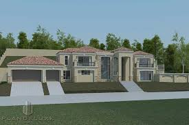 4 bedroom house plan with 3 garages