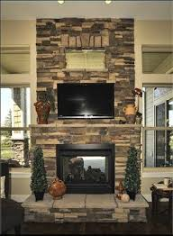 brick fireplace indoor outdoor