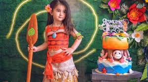 Fiesta Infantil Tematica De Moana Hawaiana Cumpleanos De Moana