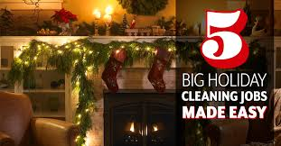 5 big holiday cleaning jobs made easy
