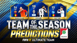 FIFA 17 Serie A TOTS Predictions - FUT Calcio A Team of the Season