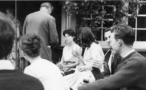 Prefects visit to Dr. Roberts 1961-62