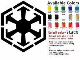 Sith Empire Vinyl Decal Sticker Car Boat Helmets Window Wall Star Wars Ebay