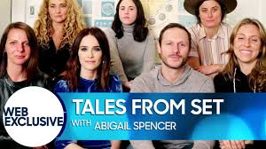 Tales from Set: Abigail Spencer - YouTube